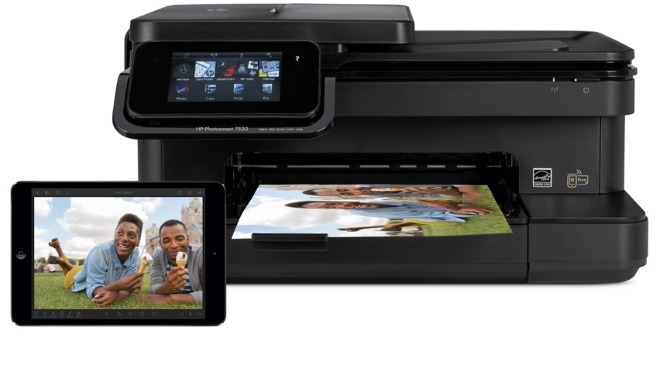HP ePrint AirPrint iPad