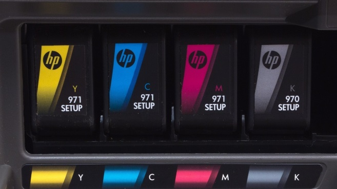 HP Officejet cartuchos color